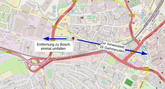 Karte vom Standort