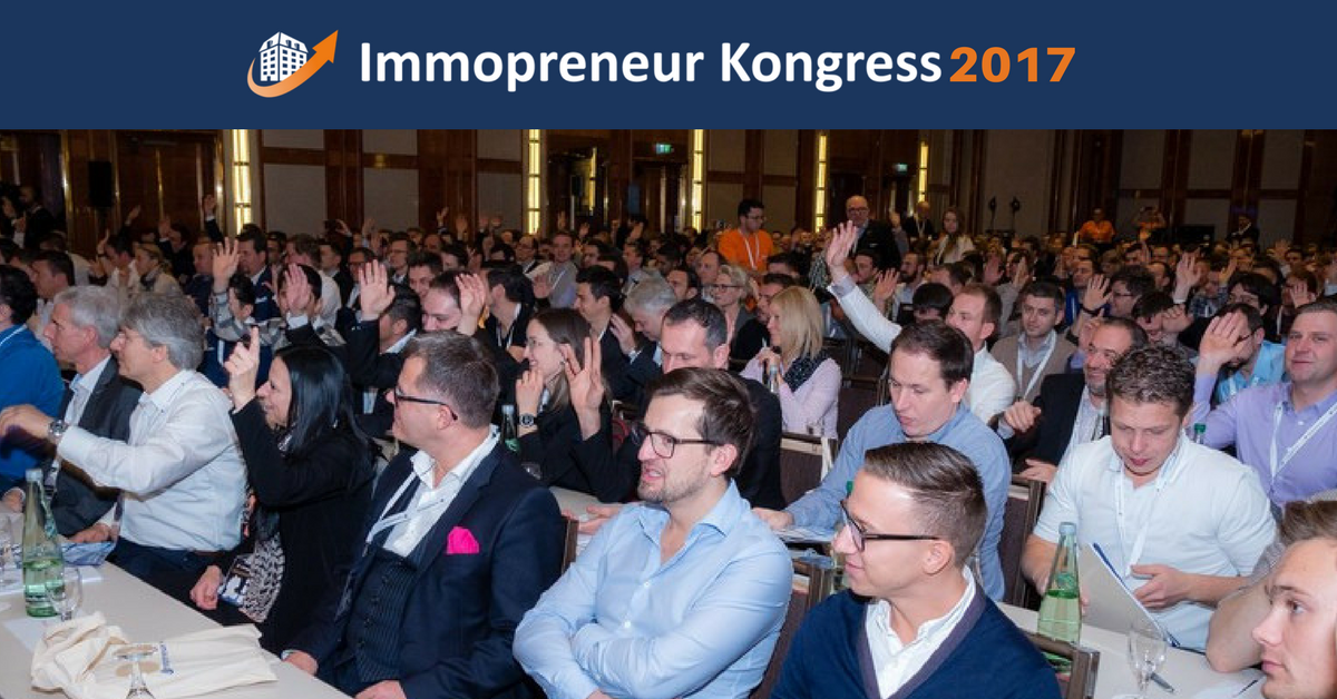 Publikum des Immopreneur-Kongresses