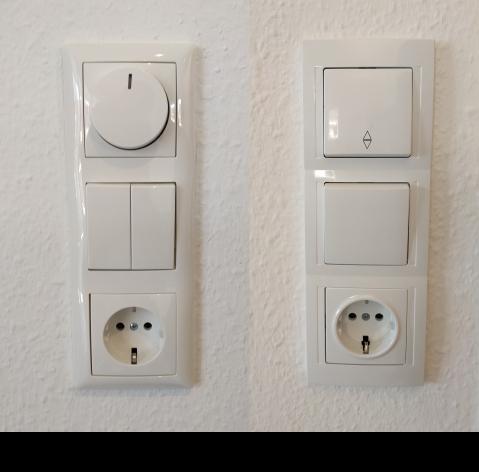 Zwei Dreier-Panele