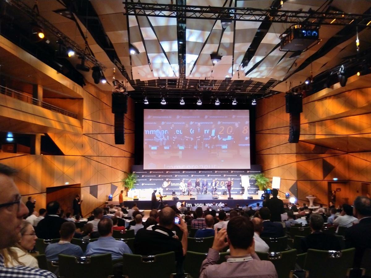 Abschlussdiskussion am Samstag auf dem Immopreneur-Kongress 2018